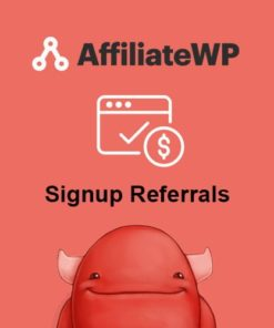 AffiliateWP - Signup Referrals