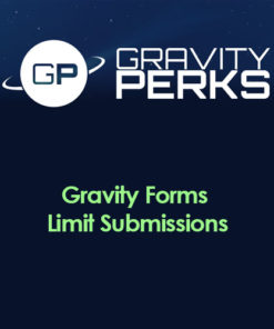 Gravity Perks - Gravity Forms Limit Submissions