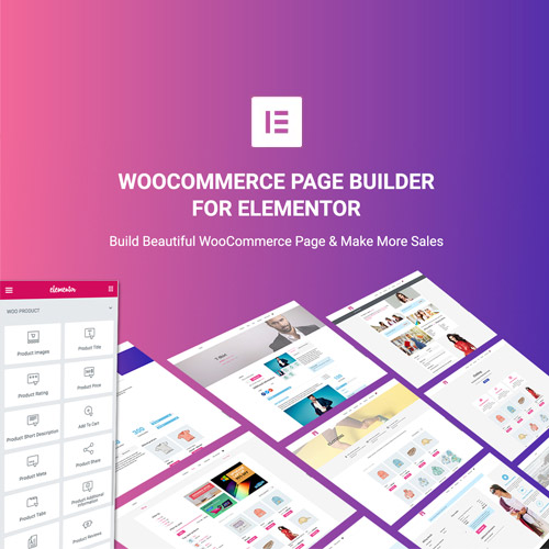 WooCommerce Page Builder For Elementor